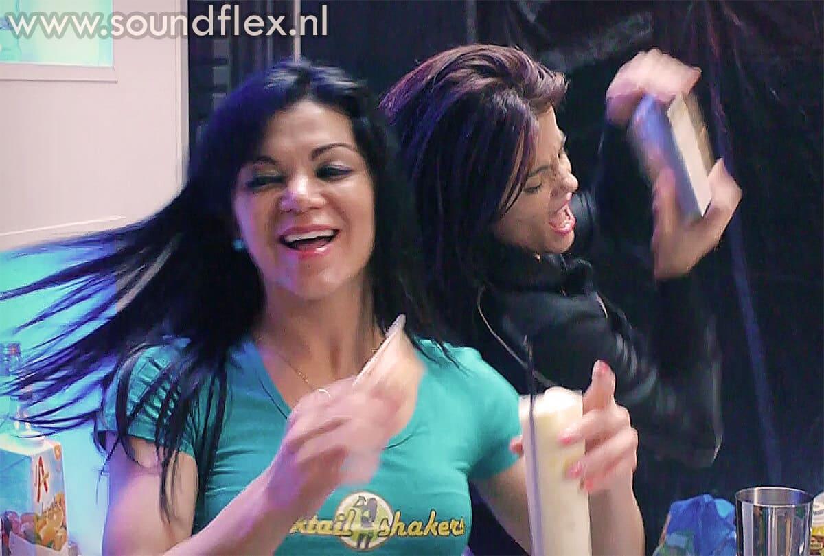 Cocktail- & showgirls in actie
