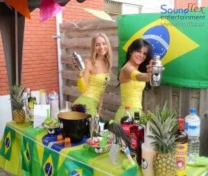 Coctailbar met thema Brazilie