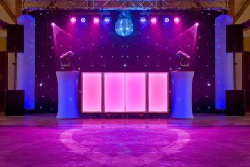 DJ Bruiloftshow setup