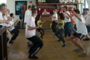 Dansworkshop Zumba bij teambuilding personeel