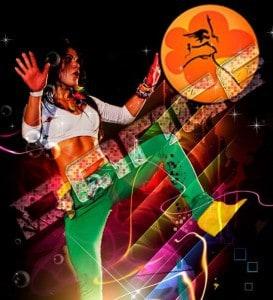 Dansworkshop zumba , de vrolijkste van de dansworkshops