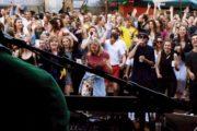 Surinaamse band in Nederland met 1 bandlid op festival de Zon