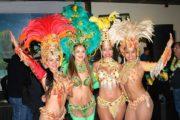 Samba show op themafeest