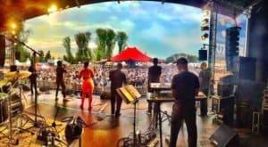 La Fiesta festival backstage