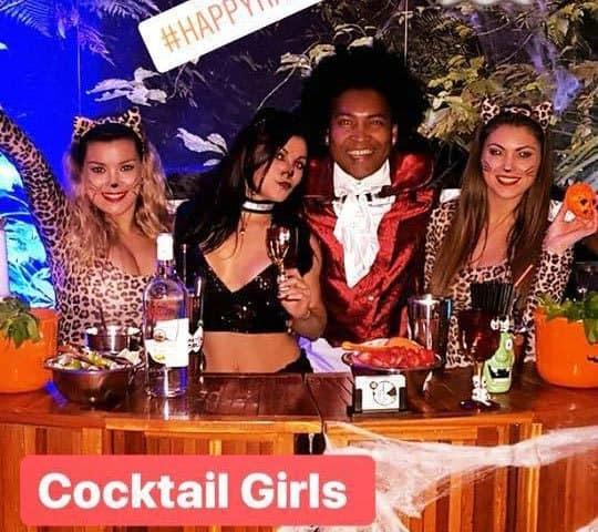 Cocktailgirls halloween thema