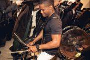 drumband live bij Antilliaans huwelijk